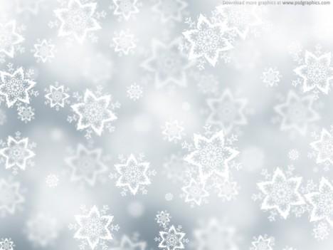 Plantilla de nieve para Navidad   Plantilla