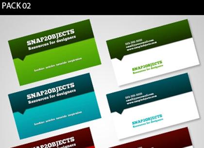 Plantilla de tarjetas de presentación y negocios para Photoshop