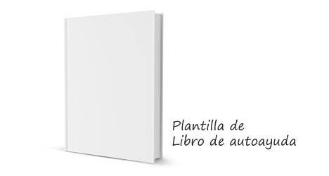 Plantilla de libro de autoayuda para descargar en Photoshop PSD