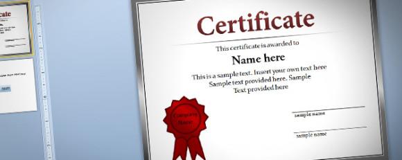 Plantilla de Diploma para PowerPoint